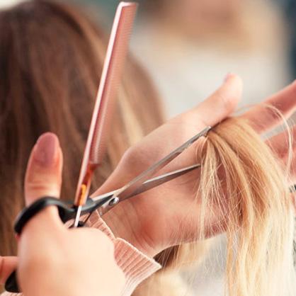 Incluye cualquier tipo de corte de pelo. Nuestros profesionales te asesorarán si se lo pides.
